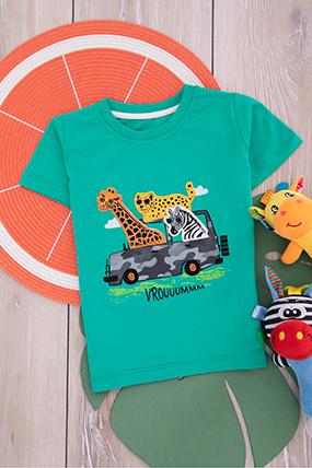 Erkek Çocuk T-Shirt - 7699 (1-4 Yaş)-220017