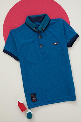 Erkek Çocuk T-Shirt - 2307 (6-9 Yaş)-386266