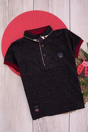 Erkek Çocuk Kısa Kol T-Shirt - 2310 (6-9 Yaş)-386284