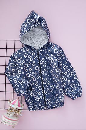 Kız Çocuk Baskılı Yağmurluk - 0608-404160