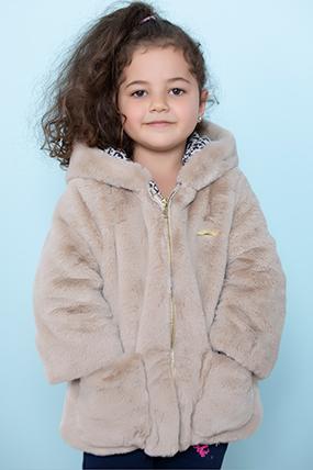 Kız Çocuk Mont - 20806 (2-5 Yaş)-421417
