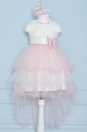 Kız Çocuk Elbise - 2528 (3-7 Yaş)-455041