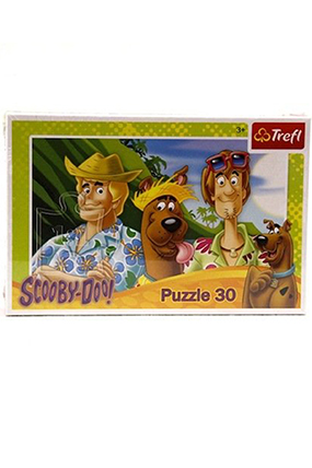 Scooby Doo 30 Parça Puzzle-520962