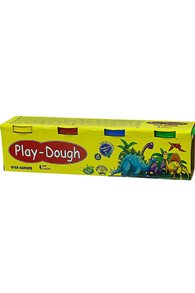 Play-Dough 4 Renk Oyun Hamuru-553008