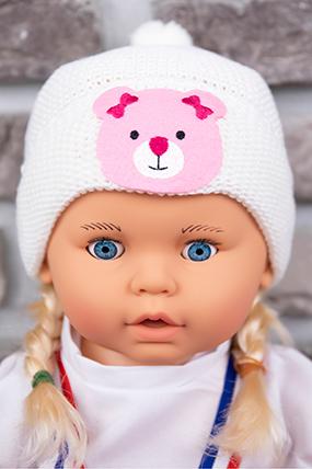 Kız Çocuk Triko Bere (1-5 Yaş)-597348-1