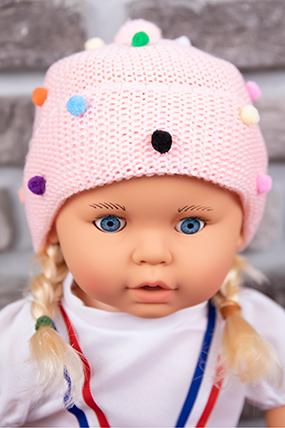 Kız Çocuk Triko Bere (1-5 Yaş)-597348-2