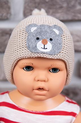 Erkek Çocuk Triko Bere (1-5 Yaş)-597348