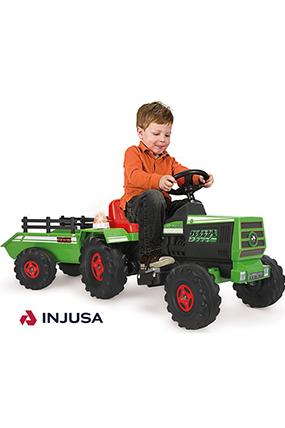 injusa 636 Traktör Yeşil 6 Volt-678112