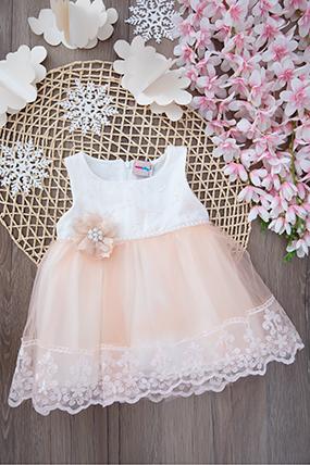Kız Bebek Tül Elbise - 2239 (9-24 Ay)-781239