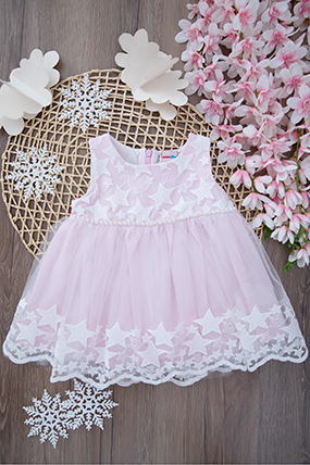 Kız Bebek Elbise - 2236 (9-24 Ay)-781255