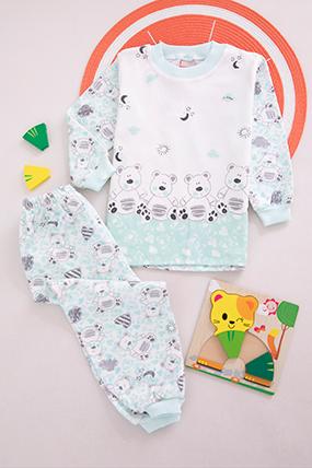 Bebek Pijama Takımı - 161-901108