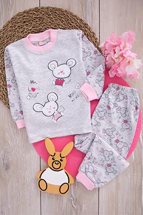Bebek Pijama Takımı - 115 (3-4 Yaş)-901113