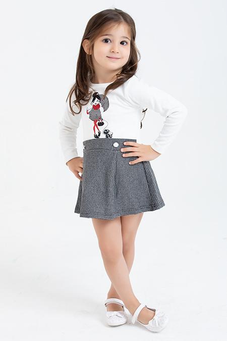 Kız Çocuk Elbise - 1084 (4-8 Yaş)_