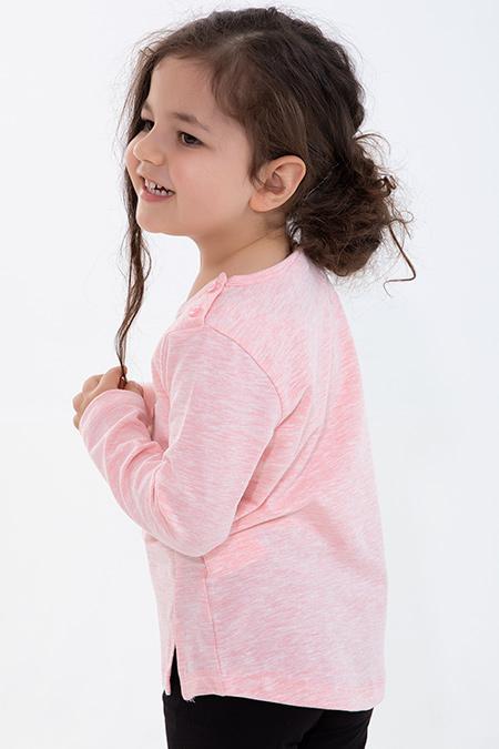Kız Çocuk Uzun Kol Body - 13290 (1-4 Yaş)_