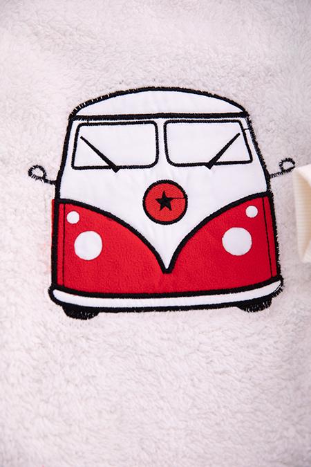 Çocuk Otobüs Nakış Polar Takım - 1005 (1-4 Yaş)_