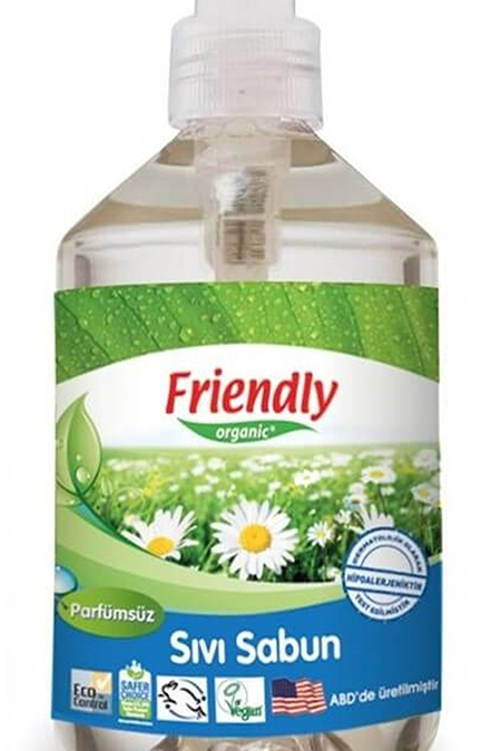 Friendly Organic Sıvı El Sabunu 500 ml_