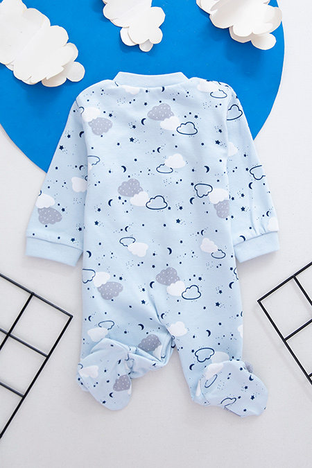 Erkek Bebek Tek Boy Tulum - 0939 (0-3 Ay)_