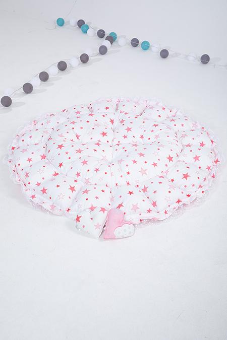 Kız Bebek Yatağı ve Oyun Halısı_