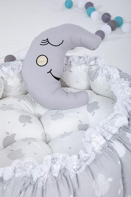 Erkek Bebek Yatağı ve Oyun Halısı_