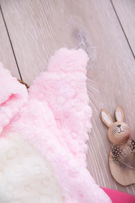 Bebek Tavşan İşlemeli Welsoft Tulum - 4900_