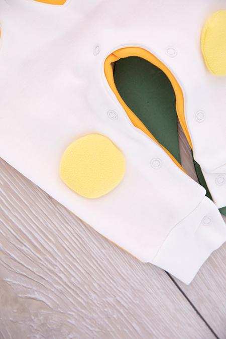 Kız Bebek Yumurtalı Tulum - 523_